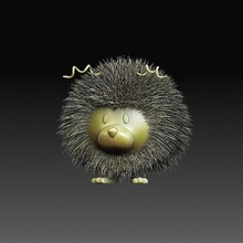 shoushi figures creature gadget art fantasy high-poly printable-model