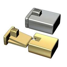 simple box clasp 3d print model toggle clasp lock closure chain necklace pendant jewellery gold silver printable bracelete jewelery jewelry fashion box pendant- necklace box-clasp jewel clasps