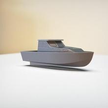semplice cabina incrociatore barca personalizzato gadget modellino in scala macchina giocattolo miniatura veicolo corsa concetto barca barca vela vasca bagno personalizzato