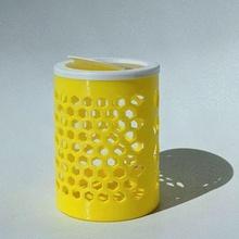 simple pattern bin lid bin bin cover bin lid garbage bin lid print-in-place cover print-in-place lid trash trash bin trash can trash can lid trash cover household