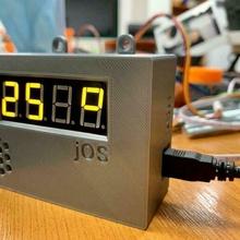 semplice termometro umidità arduino arduino nano htu21d umidità umidità sensor temperatura temperatura umidità temperatura sensor termometro tm1637 elettronica