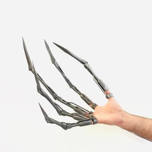 skelington articulated finger extensions mixed pictured gadget articulated finger claw halloween cosplay creepy extension