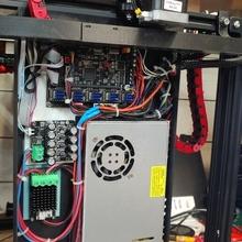 skr adaptador equipo bretware versión 2 cadena 3d impresión ender 5 ender crealidad cable administración skr turbo 14chain ender 5 modificación bretware
