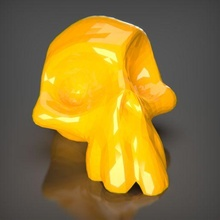 skull bust ender decor sculpture art toy decoration statue figures animal stl creality 3dprintable pla maker game sla resin skull toon