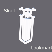 skull bookmark  bookmark skull skulls valentine bookmark skull bookstop book books reading read hobby paper organizer organize organization