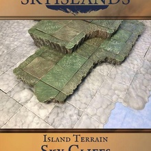sky islands sky cliffs aether aether studios sky island sky islands cloud tiles clouds fantasy airship airboat skyship steampunk dnd warhammer sky cliffs lighthouse