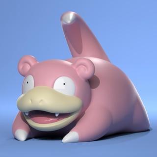 slowpoke pokemon art slowpoke pokemon sculture la scultura scolpire pokemon giocattolo pokemon andare pokemon figure figurina figura fanart carino personaggio di anime anime