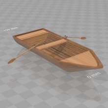 small boat game boating oars water psl