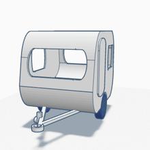 piccolo caravan diorama modello fabbricazione 1 43 1 43 caravan miniatura