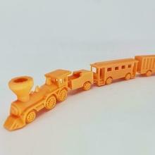 piccolo treno minuscolo ruote 2mm treno scatola macchina allenatore macchina petroliera macchina pianale vapore motore vapore motore