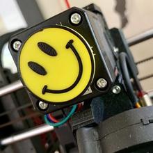smiley face - extruder spinner tool 3d printer accessories smiley face smiley happy face extruder spinner extruder