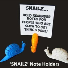 snailz note holders people slow get things done home unique snailz snails snail simple recipe print presents present organisation office novelty novel note holder notes note models message holder messages message memo holder memo kitchen insects home holder gifts gift funny fun easy designer creatures creature clever christmas cards card business cards bitrhday animal smart