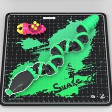 yılan oyun toysnake oyuncaklar oyuncak yılan skelpix hacmanhac esnek easyprint mafsallı