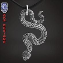 snake 1 pendant jewelry jewel jewellery biker gang club riders punk fancy jewelri pendant skull rings python reptile scales animal creature beast venom jewelry pendants