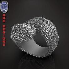 snake 1 ring jewelry jewel jewellery biker gang club riders punk fancy jewelri pendant skull rings python reptile scales animal creature beast venom jewelry pendants