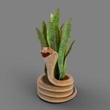 yılan tencere mimari dekor çiçek tencere kavanoz vazo bitki basit Groot grooty Şirin eklemli mafsallı 3d güzel kolay zekâ inovador oyuncak ekici yazdırılabilir tasarım hediye benzersiz