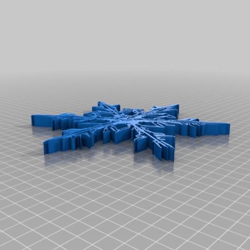 snowflake 10 tool 3d prin