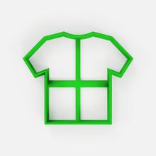 soccer shirt cutter - shirt cookie cutter - fondant home cookie cutter t-shirt shirt football football shirt