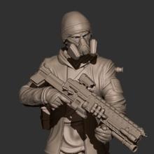 soldier darkzone agent stl 3d print model art infantry soldier army infantry army soldier police 3d print soldier 3d print darkzone agent soldier