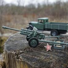 soviet wwii 76mm field cannon zis-3 cap gun ammo various toy history cannon artillery mechanics physic cap gun