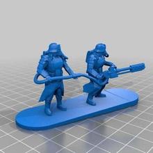 space heavy flammenwerfer crew art people heavy flamer crew flamethrower crew flamethrower death korps krieg