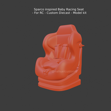 sparco inspired baby racing seat - rc - custom diecast - model kit rally stance time attack collectible model modelcar car hobby retro classic car classic vintage diecast hot wheels 1/43 1/32 1/64 matchbox model kit custom diecast custom kit car vehicle sport car racing car ford race car racing nostalgic record car hotrod hot rod motorsport racing car seat racing seat seat baquet chair aluminium aftermarket part car part drag racing drag rc r/c slot custom diecast recaro sparco racetech omp race tech baby seat baby child seat bride