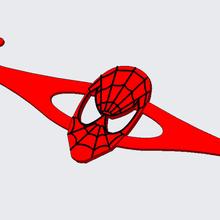 hombre araña oído ahorrador máscara Correa herramienta hombre araña Correa máscara