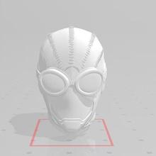 hombre araña negro inspirado haz hombre araña spiderverse negro máscara lente réplica vengadores pedro Parker maravilla cosplay disfraz