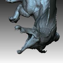 spinosaurus dragon dragons fantasy toy sculpture animal dinosaur dino