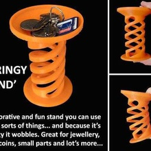 springy stand home springy springs spring sd card rings ring present paper clip paper clips organization organiser office novelty novel lego keyrings keyring key jewellery box jewellery home gift ear rings display desktop desk designer design decoration decor container coins coin christmas chains chain bruh much tag like bouncyball household workshop wobbly wobbling wobbler wobble watch stand watch unique trays tray toys toy stand springy stand bouncey bounce bobbler birthday artistic art