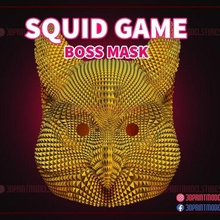 squid game mask - boss mask - owl mask cosplay game squid game squid game squid game netflix squid game mask squid game vip mask mask squid game boss mask boss boss mask squid mask survival squid cosplay mask