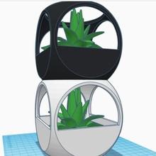 empilhável minimalista plantar Panela erva plantio pilha interior plantar Panela vaso empilhável minimalista dados jardinagem potes plantas vasos