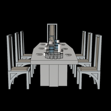 star wars bespin cloud city dining room table & chairs 375 figures star wars empire strikes back bespin cloud city diorama toy display vintage collection toys luke skywalker han solo darth vader hasbro kenner lando calrissian boba fett