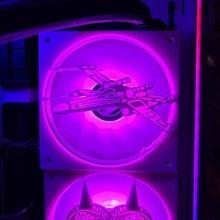 star wars xwing 120mm fan cover 120mm fan fan star wars star wars fan cover x wing xwing movie