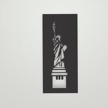 statua libertà stencil statua Libertà stencil statua libertà New York York unito Uniti libertà