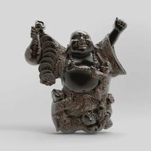 estatuilla hotei niños 3dmodel stl estatuilla amuleto recuerdo recuerdo interior hotey asiático estilo japonés mitología