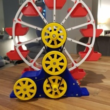 steam powered ferris wheel steam engine ferris wheel mamod bearings model
