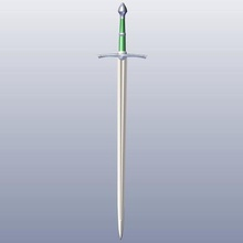 strider ranger spada art aragorn lotr spada gondor mordor isildur narsil ron sauron nazgul gandalf elrond gli elfi nano hobbit umana albero di cacciatori