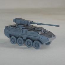 stryker m1128 mgs 1 64 scala modello gadget serbatoio militare modellino in scala aereo giocattolo wargaming miniatura veicolo