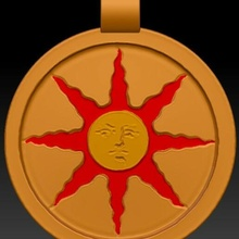 sunlight medallion solaire jewellery dark souls jewelry