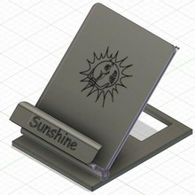sunshine mobile stand support dock smartphone mobile telephone hello