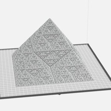 super duper fractal pyramid art fractal fractal pyramid infinitesimal infinity pyramid sierpinski sierpinski triangle super duper math art