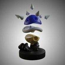 Super Mario Schildkröte Muscheln Blau stachelig Schale rot Grün Schildkröte Schale Kit Bowser Nintendo Tier Mario Kunst Video Spiele verschlüsselt fdm Harz einfach drucken Super