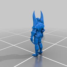 super cattivo fantasia 3d stampante 3d stampa azione figura carattere carattere modello comicsfigure fantasia maschio azione figura statico statua statua super supereroe cattivo Modelli