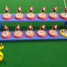 support painting subbuteo players display subbuteo football futbool gamesdemes teams painting exhibitor games vintage 80 90
