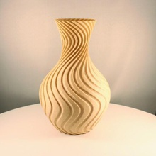 swoosh vase vase mode print vase spiral vase decoration vase shelf decor twist vase swoosh vase home decor flower vase vase mode organic vase