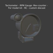 tachimetro rpm valutare rev counter modello kit rc personalizzato pressofuso rpm rpm tachimetro revolution counter tach rev counter rpm valutare collezione modello modello auto macchina