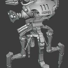 tall doomwalker necron warhammer 40k space zombie
