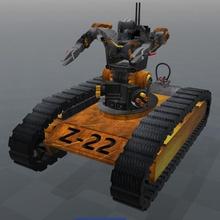 tank-bot z-22 serisi oyun robot fütüristik gelecek psl