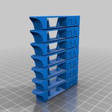 temperatura Torre pla personalizzato 3d_printing_tests